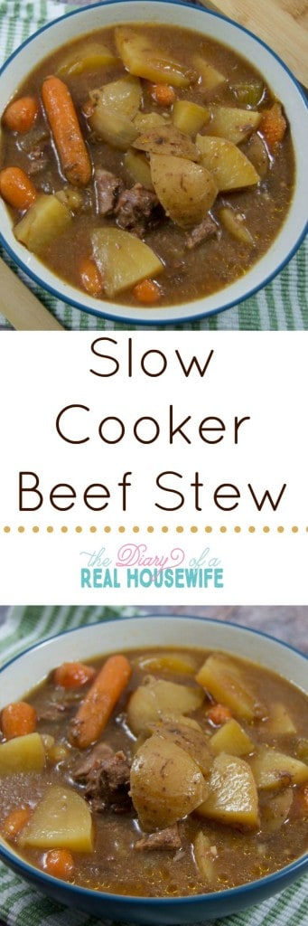Yummy and really easy slow cooker beef stew! I'll be eating this all fall and winter thank you very much!