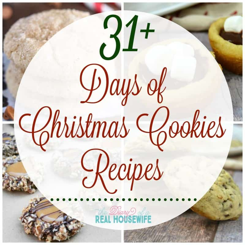 31 Days of Christmas Cookies Recipes