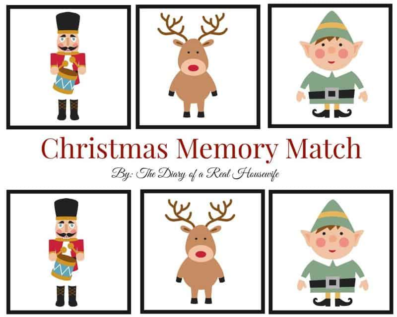 Christmas Memory Match