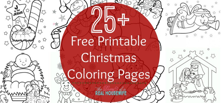 christmas coloring pages the diary of a real housewife. Black Bedroom Furniture Sets. Home Design Ideas