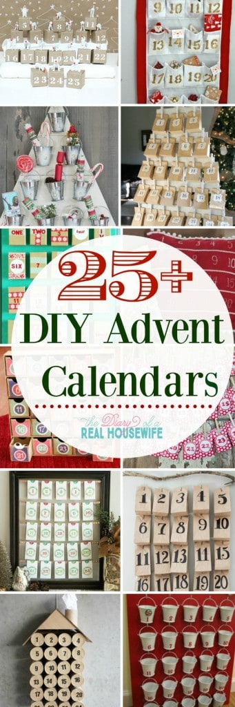 How will you be counting down the days till Christmas Check out these DIY Advent calendars
