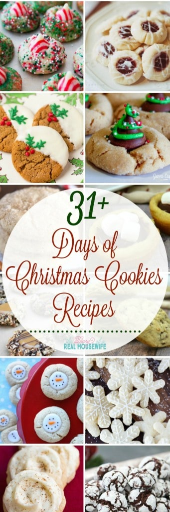 Over 31 awesome cookie recipes for this Christmas! I will need these yummy recipes for my Christmas cookie swap!