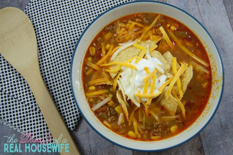 Spicy Taco Soup!