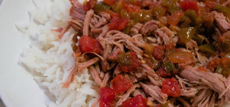 Slow Cooker Sweet Salsa Pork