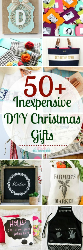 Inexpensive DIY Christmas gifts that people will LOVE! I'll be making a few of these this year.