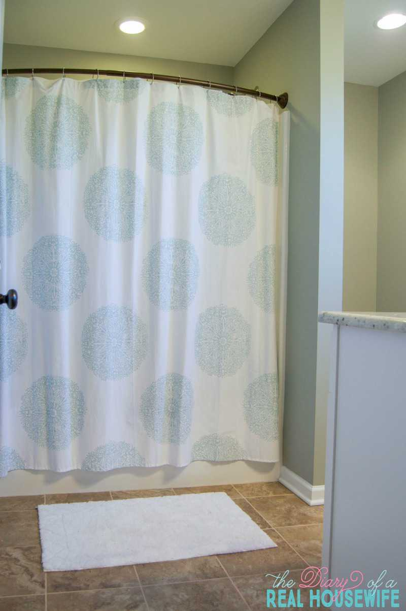 Bathroom Reveal Progress The Diary Of A Real Housewife