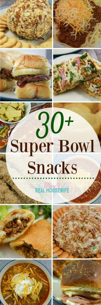 Super Bowl Snack Ideas!