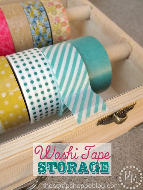 washi tape storage 12