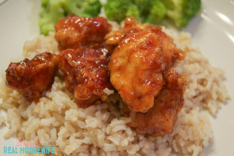 Easy Orange Chicken. Simple recipe my family loved
