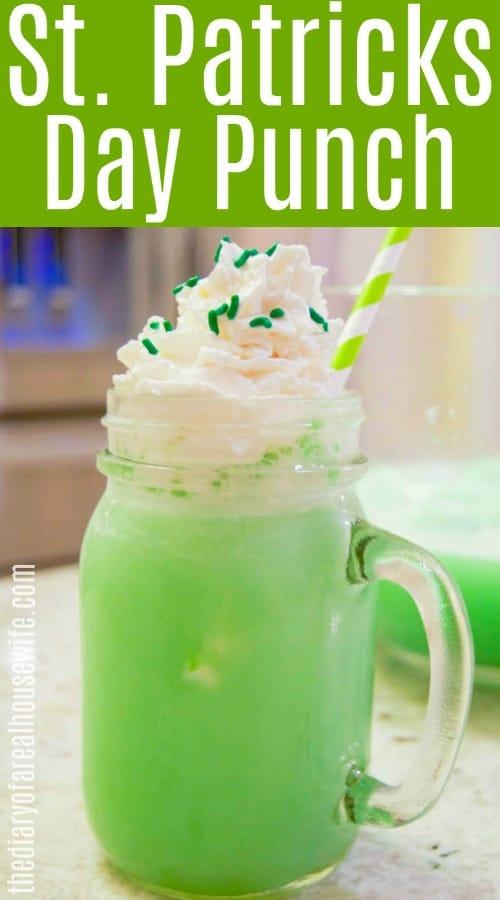 St. Patricks Day Punch