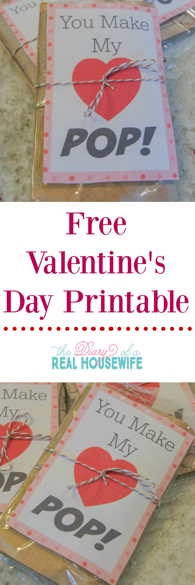 Free Valentines Day Printable The Diary Of A Real Housewife