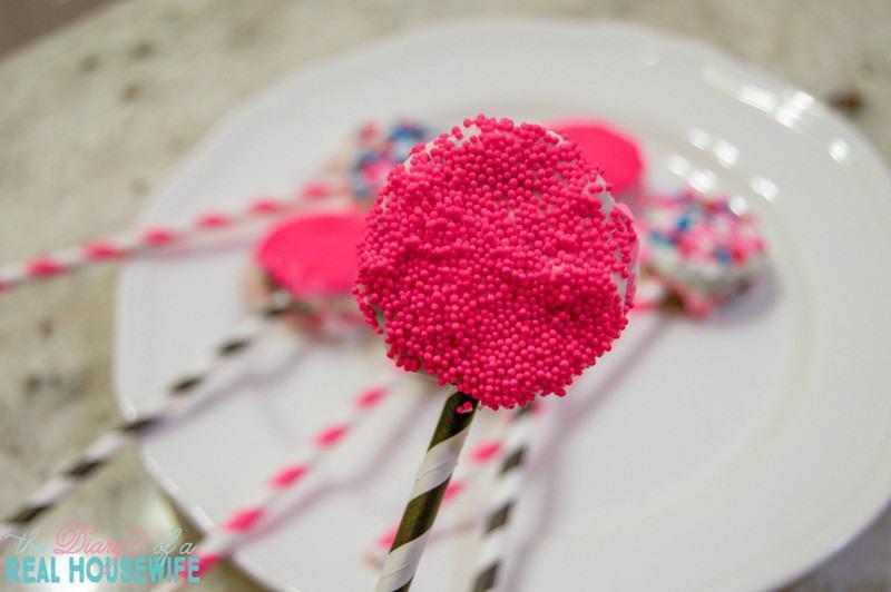 Oreo Pop. Valentines day treat