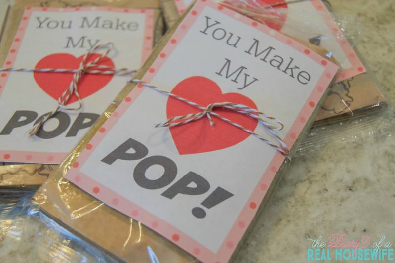 You MAke My heart pop Valentines