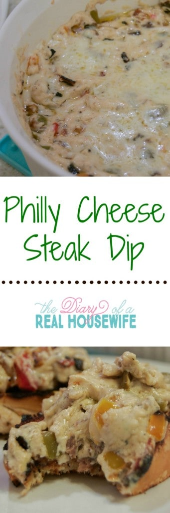 philly cheese steak dip! This dip is awesome!