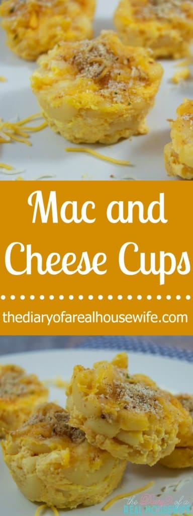 Baked Mac and Cheese Cups. My kids loved this fun dinner meal idea.