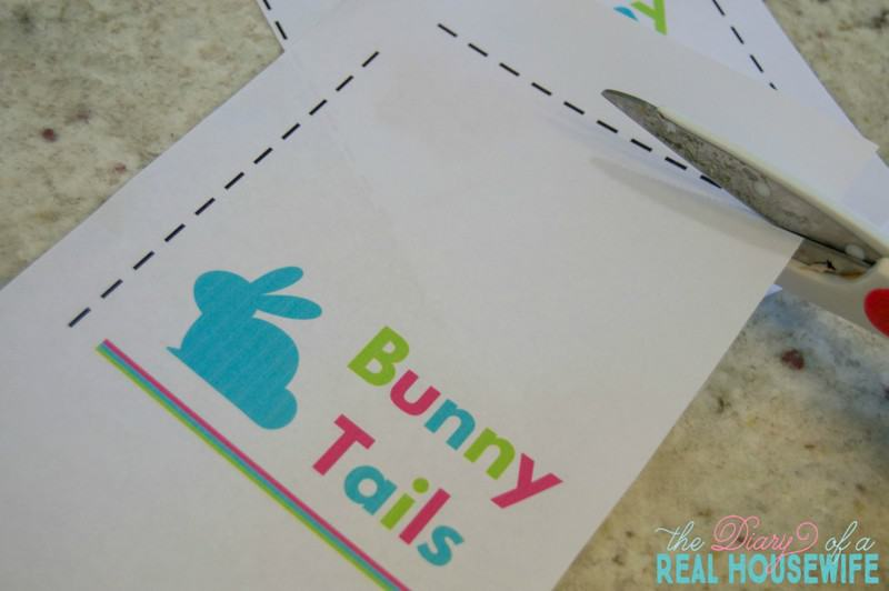 Bunny Tails. Cut out and create!