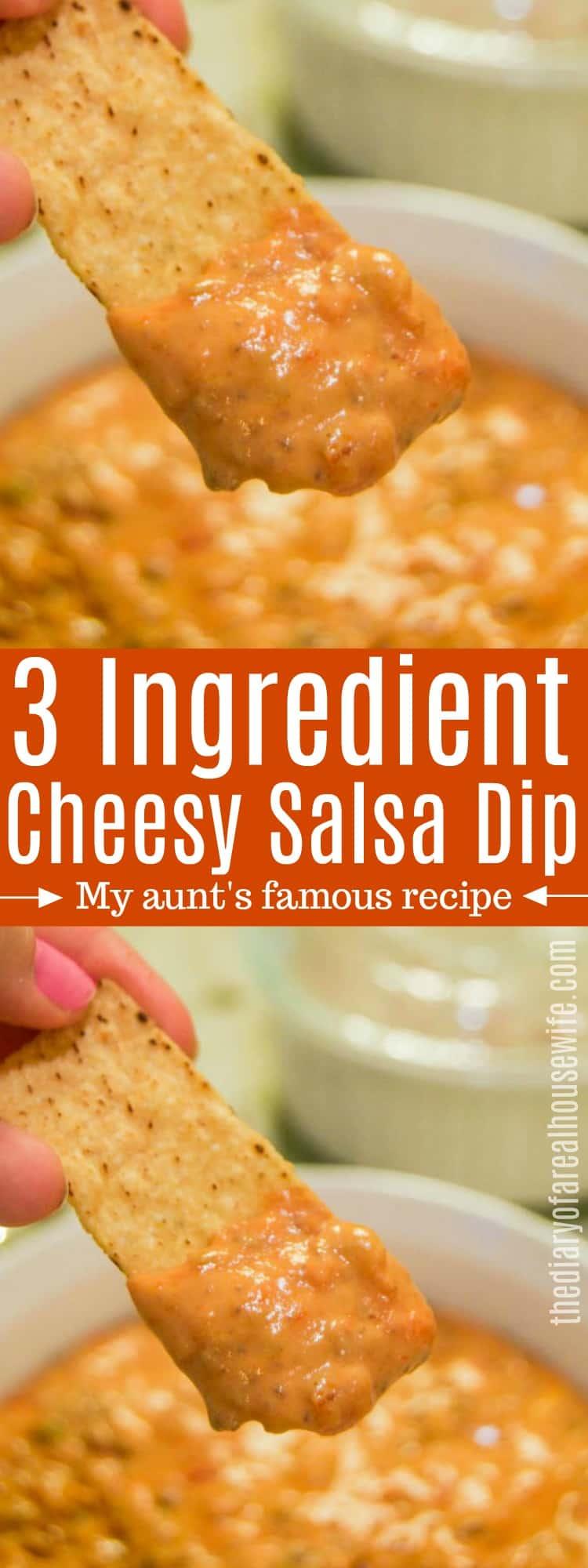 Cheesy Salsa Dip