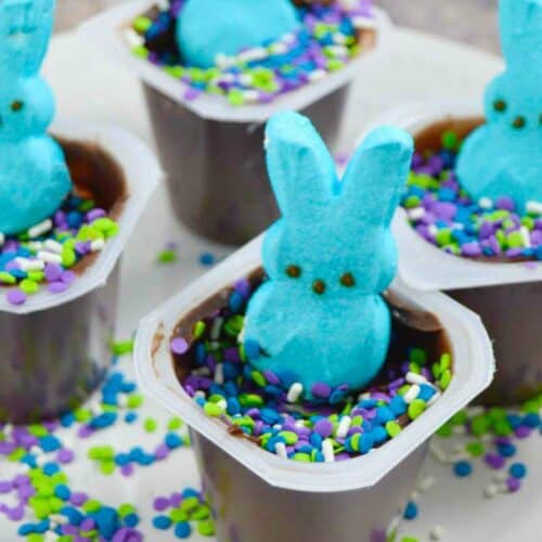 Easter Peep Pudding Cup