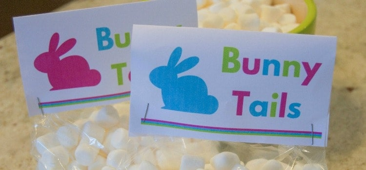 Free Easter Printable – Bunny Tails