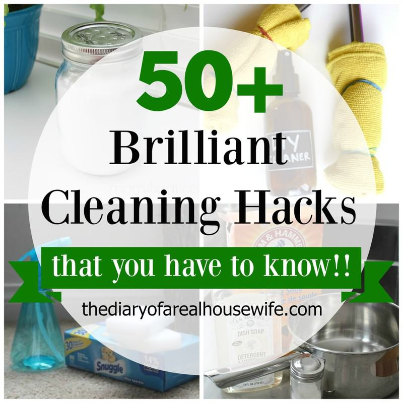 Brilliant Cleaning Hacks.