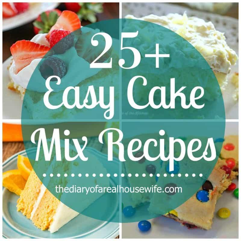 Easy Cake Mix Recipes