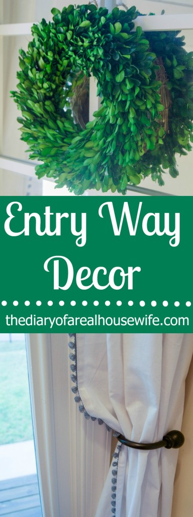 Entry Way Decor