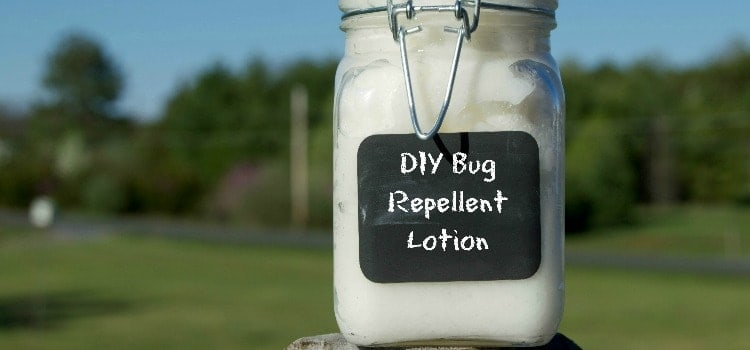 DIY Bug Repellent Lotion (All Natural)