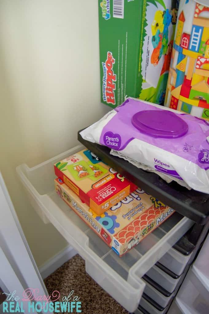 Matching games in the Homeschool Closet Organizations