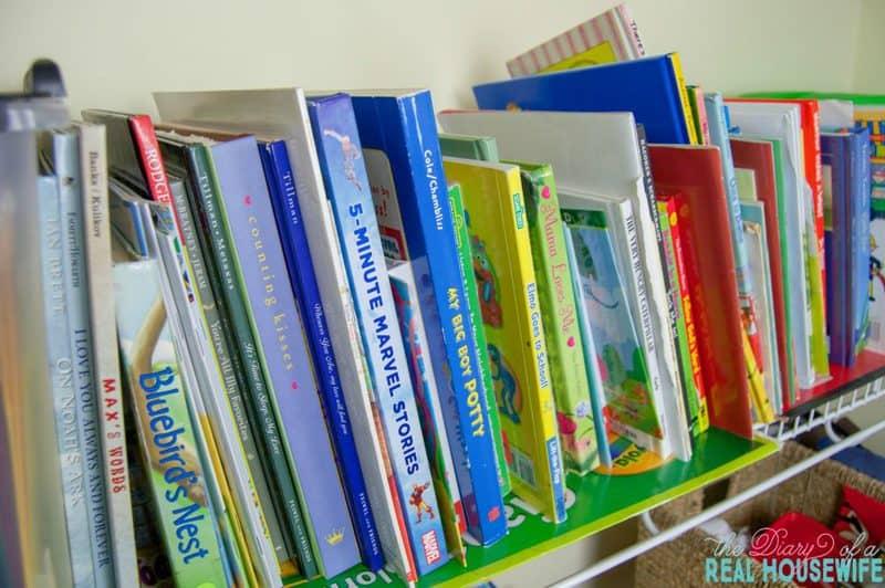 The books, Homeschool Closet Organizations