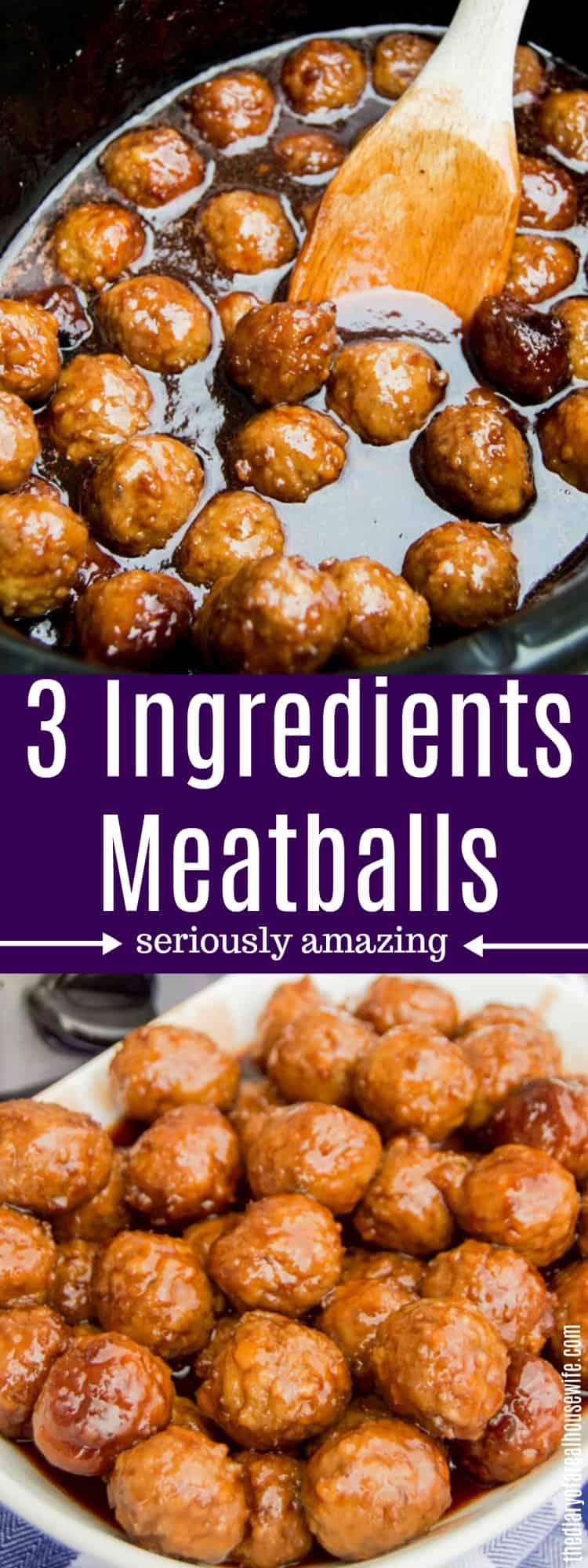3 Ingredients Meatballs