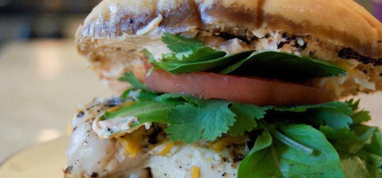 Featured Size - Grilled Chicken Taco Sandwich