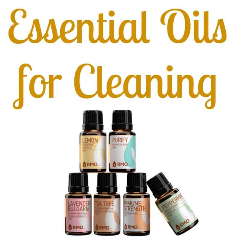 Essential Oils for Cleaning. 1