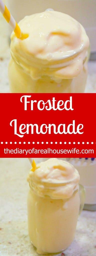 Homemade Frosted Lemonade