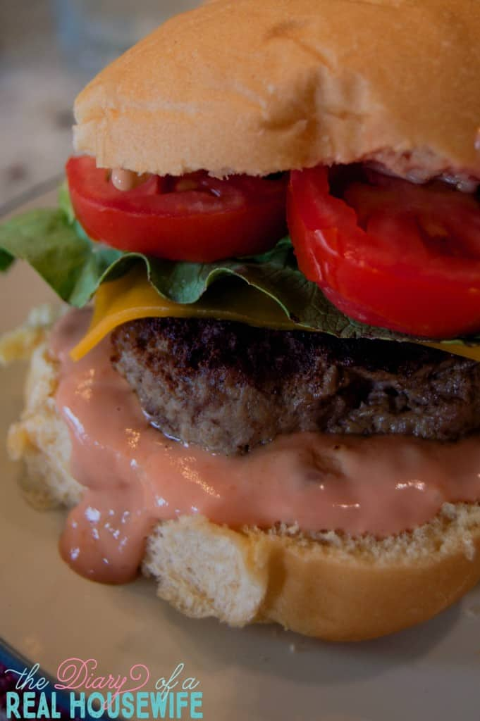 The All American Burger - The Diary of a Real Housewife