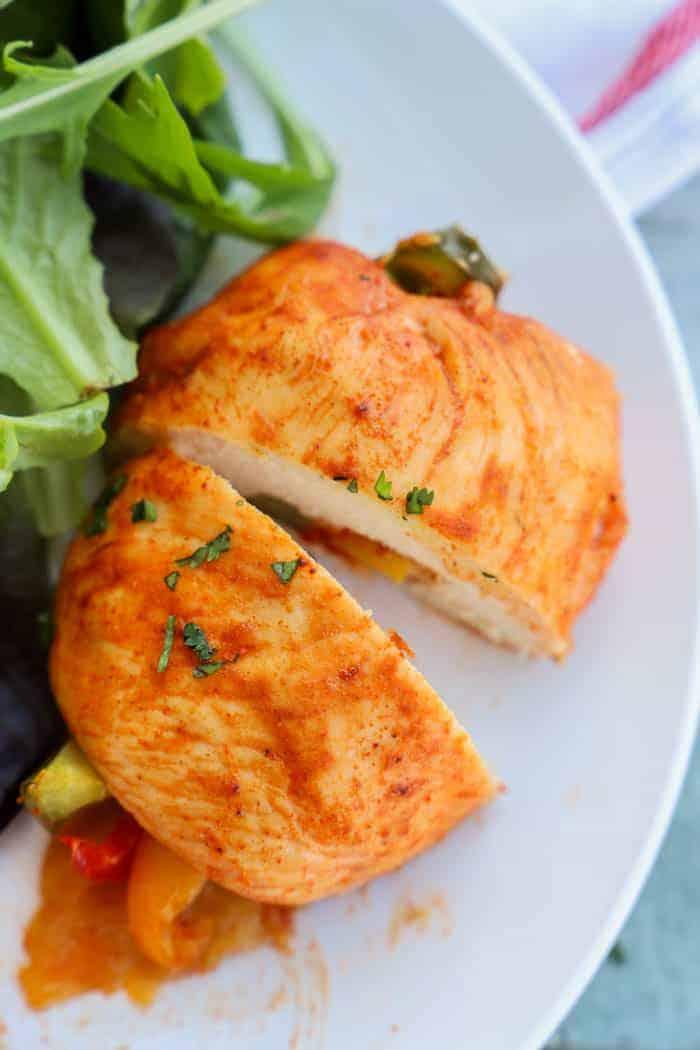 Chicken Fajita Rollup
