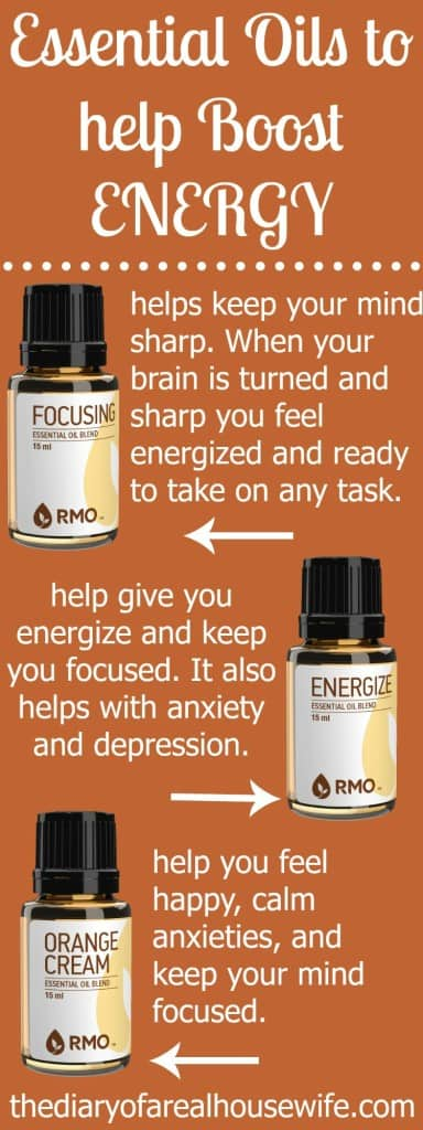 These are all time favorite essential oils for helping to boost energy. Need extra energy during the day, check these out!