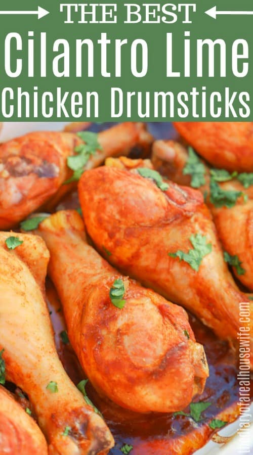 Cilantro Lime Drumsticks
