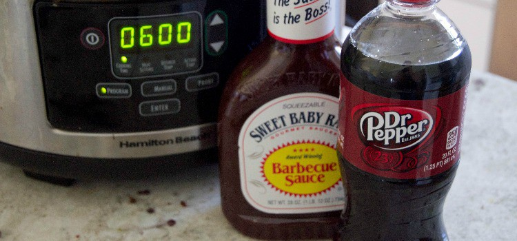 Featured Size - Slow Cooker Dr. Pepper BBQ Chicken
