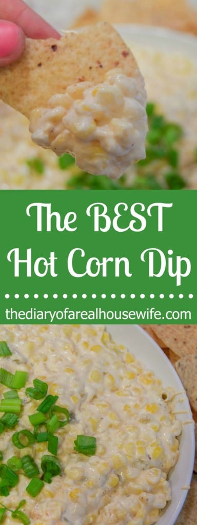 The BEST Hot Corn Dip! This is one of my favorites and is always a huge hit with my guest.