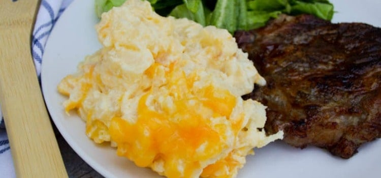 Slow Cooker Cheesy Potato Casserole