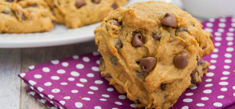 Pumpkin Chocolate Chip Cookies