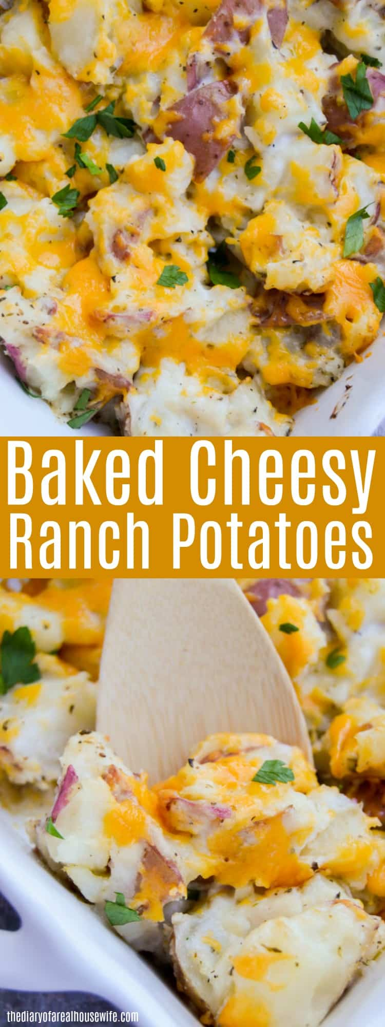 how to make cheesy potatoes with real potatoes