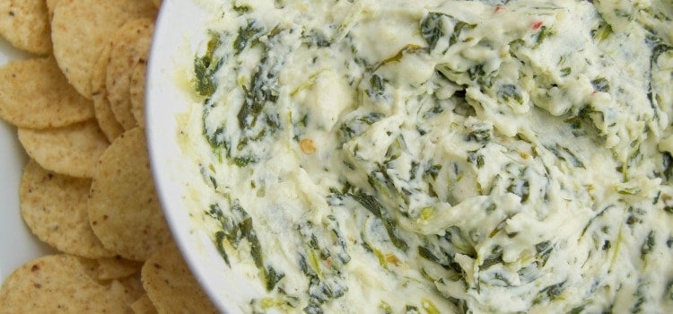 Cheesy Spinach Dip