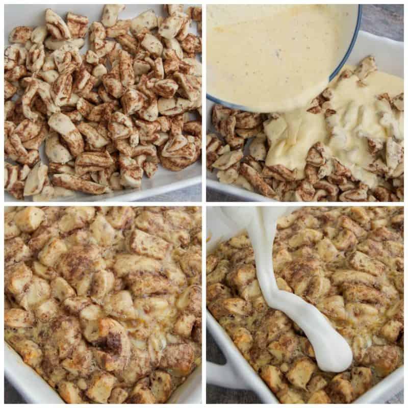 cinnamon-roll-breakfast-casserole-collage