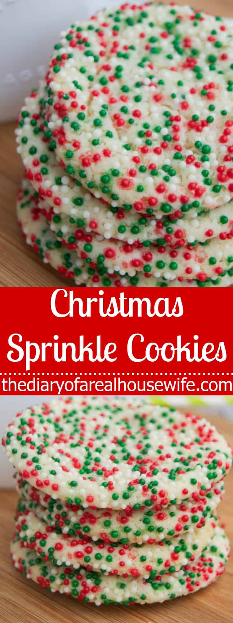 christmas sprinkle cookies the diary of a real housewife - Christmas Sprinkles