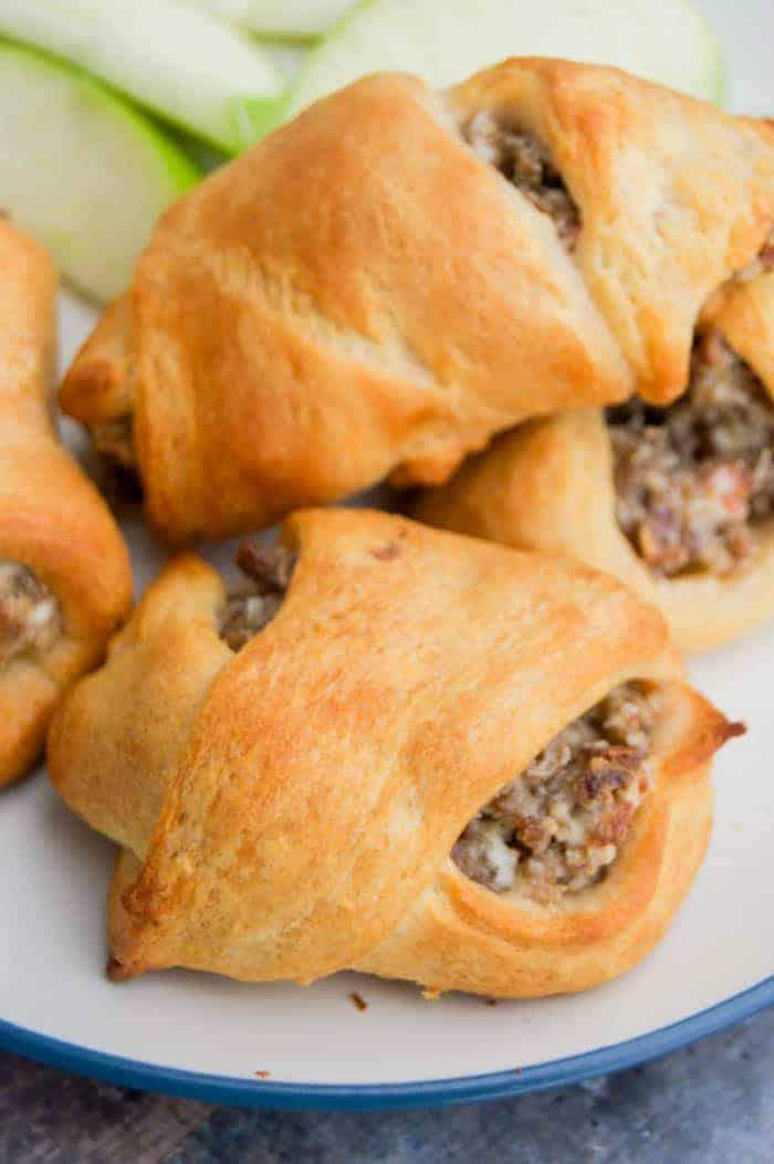 Cream Cheese Sausage Crescent Roll Ups The Diary Of A