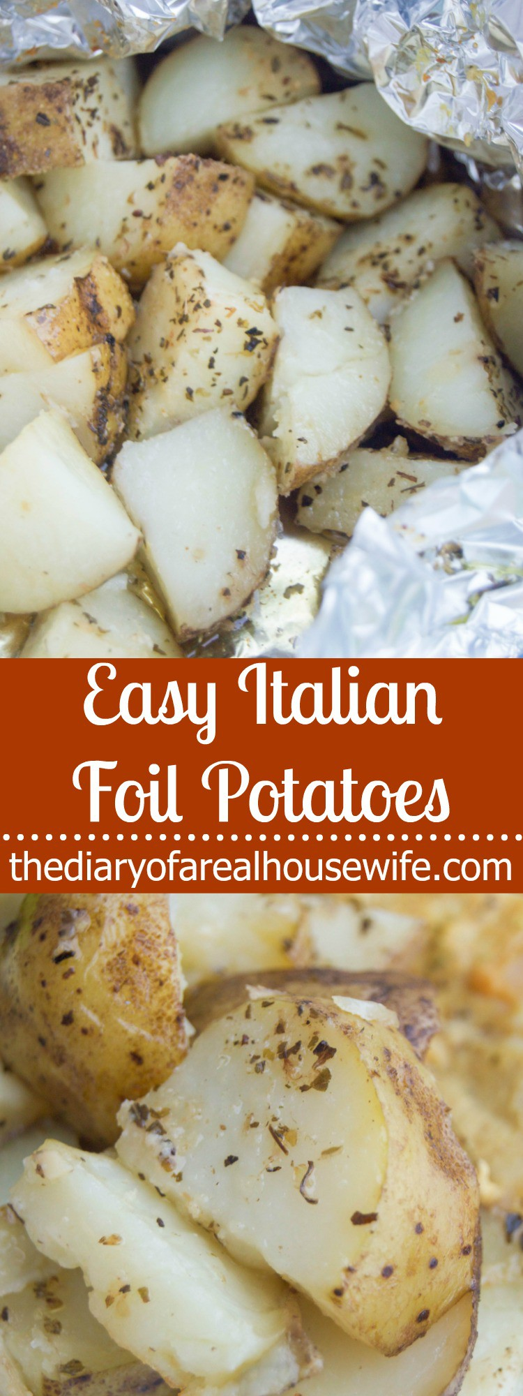 Easy Italian Foil Potatoes