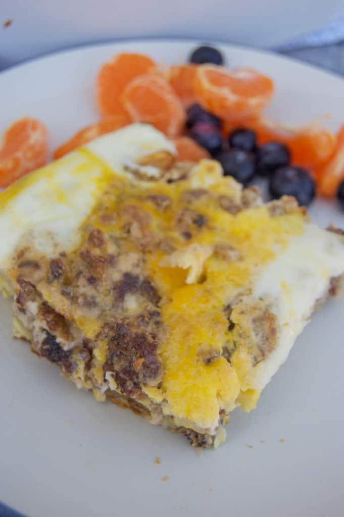 Cream Cheese Sausage Casserole