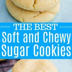 Soft and Chewy Sugar Cookies