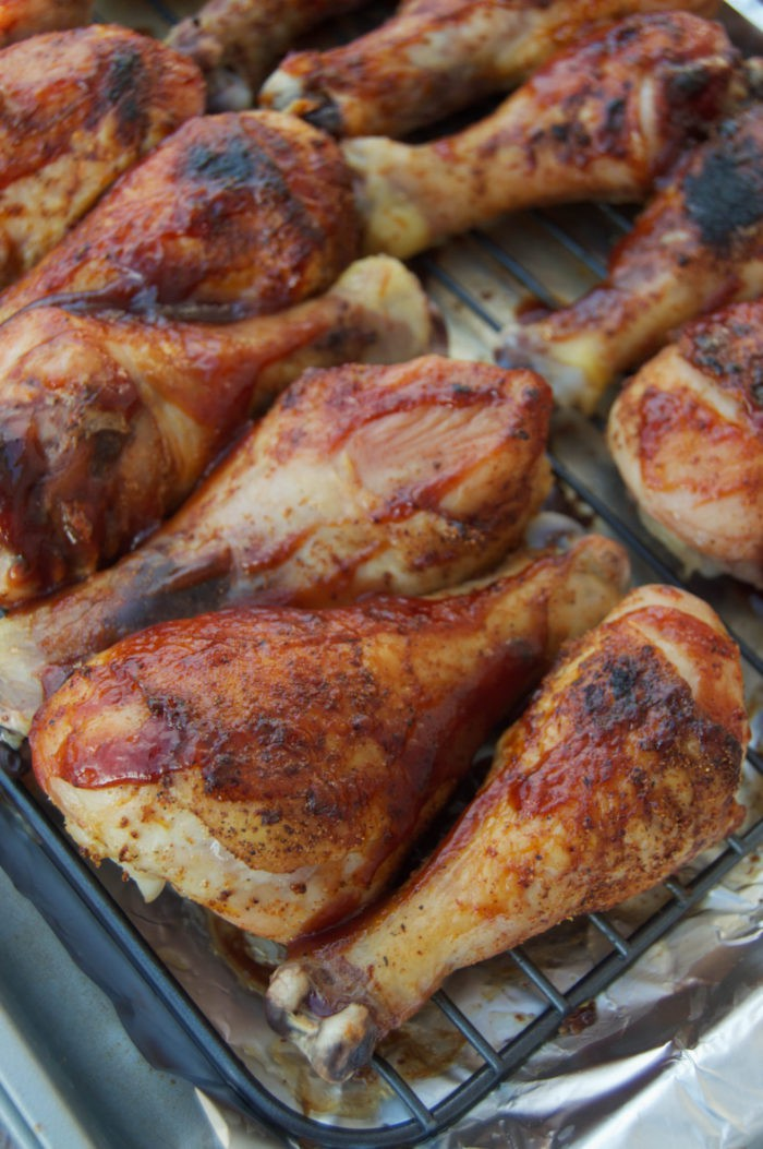 Baked BBQ Chicken Drumsticks